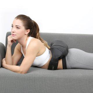 Das Massagegerät auch für den Rücken