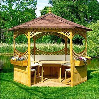 Holzpavillon von Palma