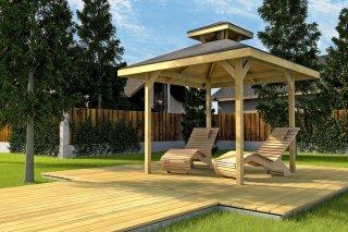Holzpavillon von Weka