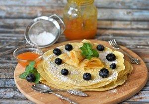 Crêpes mit Honig Rezepte