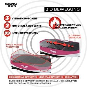 Abnehmen mit der Vibrationsplatte 3D