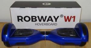 Verpackung und Lieferung vom ROBWAY W1 Hoverboard im Test