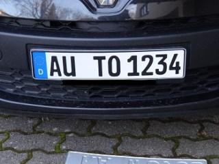 Lieferung von autoschild-kaufen.de im Test