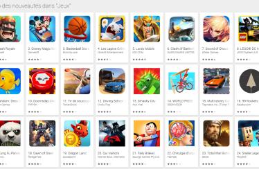 top jeux mobile mars 2016