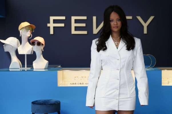 Rihanna à Paris, le 22 mai 2019.