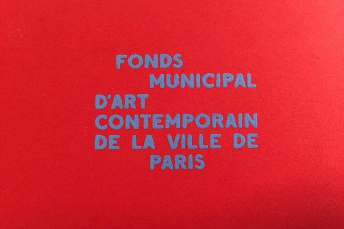 FMAC Ville de Paris - Acquisitions 2017 - Artistes Jeune Création