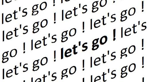 Let's go! - Commissariat de Rémy Louchart