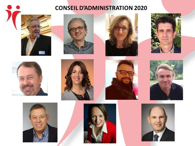 Conseil d'administration Jeuniors d'Alsace 2020