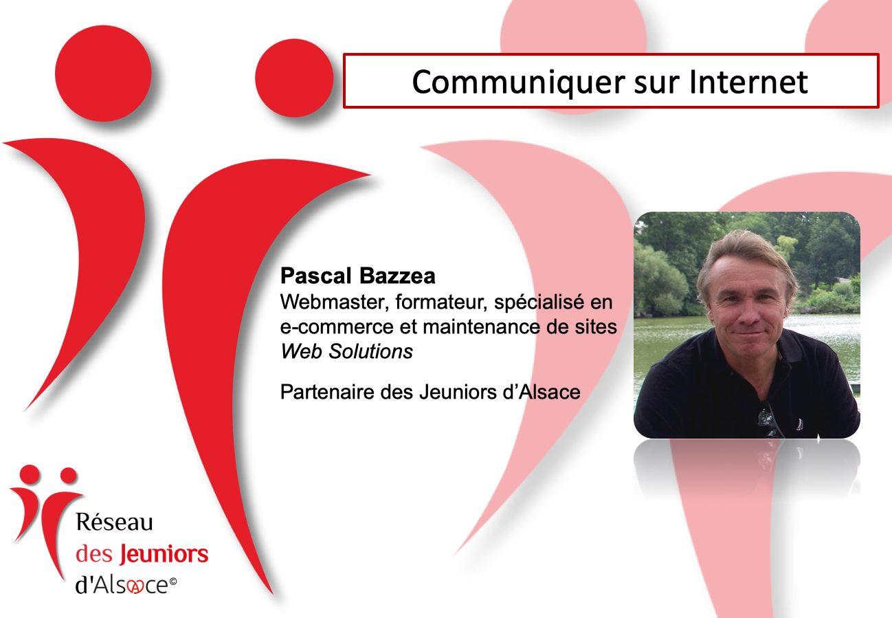 Rencontre-Café : Communiquer sur Internet, animé par Pascal Bazzea