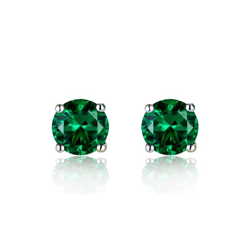 Emerald Stone Earrings