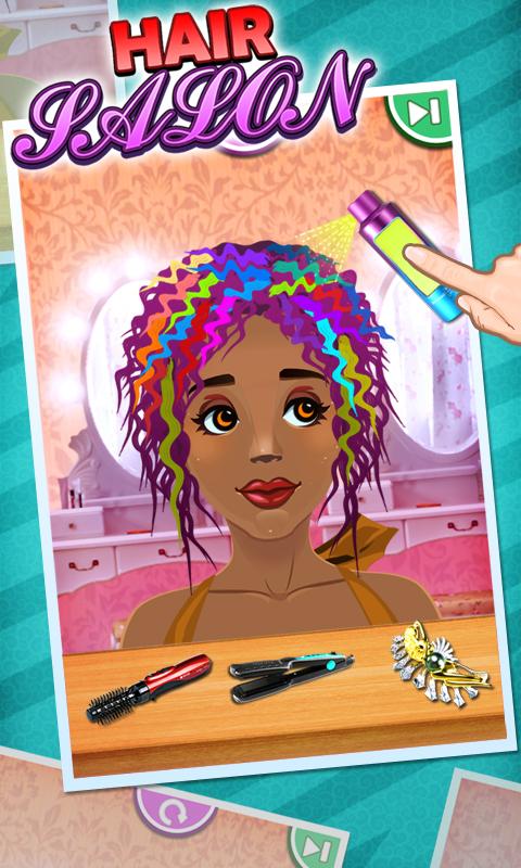 application salon de coiffure sur ipad