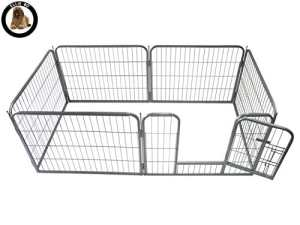 Ellie-Bo Enclos modulaire pour chiot 6 pièces 158x 77x 60 cm