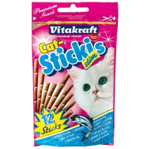 Vitakraft – 24147 – Cat Sticki's Slim Saumon / Truite P/12