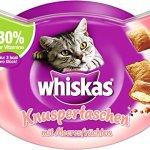 Whiskas; REPAS des collations Knusper poches et Duo Licious, Saveurs différentes tailles et