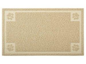 DM Creation chat tapis pour bac à litière, Tapis de litière pour chat, forme rectangulaire, 29,8x 50,8cm