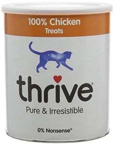 Thrive Friandises pour chat 100% poulet Tube XL