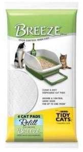 Pour Chats 10Breeze Litière pour chat de recharge, 4pads, Pad, chat, litière, Breeze, pour Pet Supplies/magasins