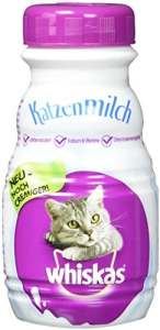 Whiskas Lait pour Chats pour Chat et Chaton heranwachsende, 6 flacons (6 x 200 ML)