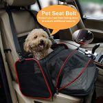La Gracery Stretchable Pet Transport für kleine Hunde, Katzen, Kätzchen und Welpen – Zwei seitliche faltbare Erweiterungshülle für Haustiere