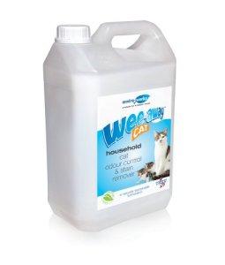 Wee Away – Produit anti-odeurs – Spécial urine de chat – 5 l