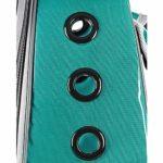 Zylxnt Grand Sac à bandoulière Portable panoramique Transparent sortant pour Animaux de Compagnie (Color : B)