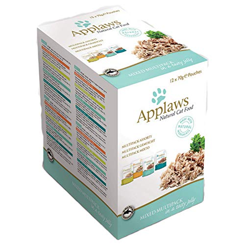 Applaws Cat Food Jelly Pouch 12x70g Multipack – Mixed