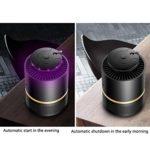 Lampe à moustique domestique – Photocatalyseur LED – Inhalation sans rayonnement – Silent – Anti-moustiques – Couleur : blanc