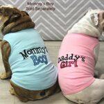 Parisien pour Animal Domestique Daddy's Girl T-Shirt, Petite