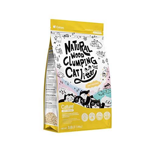 RRCT-Cat Litter À Base De Bois Litière for Chats Sacs De 3 litres Ultra Absorbant Bois Brut Adapté for Petit Animal (Color : 1)