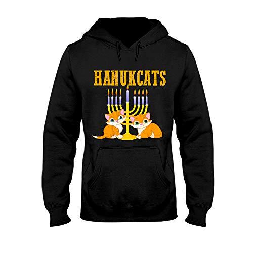Situen Hanukcats Hanukkah Cat – Cat Lovers 4 Hoodie