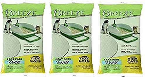 Tidy Cat Breeze Lot de 4 tapis pour chat