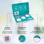 vetevo WURMTEST PRO CHAT – Test de laboratoire sur tous les vers importants et les giardies (agents pathogènes de la diarrhe).