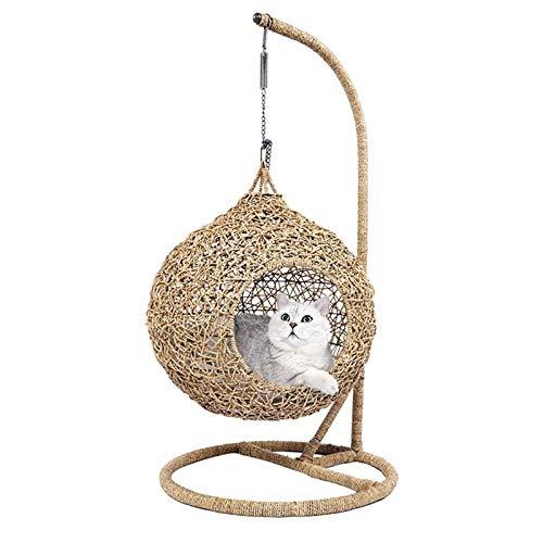 Hamac De Fenêtre De Chat Chat lit de luxe lit maison chat chat hamac avec coussin house accessoires pour animaux de compagnie hamac stand chat chat ménage articles panier Convient Aux Chats Pour Profi