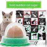 Nutrition Saine collations pour Animaux de Compagnie Fixe Chat Chiot Nutrition Bonbons Chat Bonne collation Balle cataire Nutrition Gel Boule d'énergie