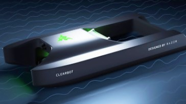 un bateau avec une IA pour nettoyer les océans