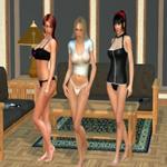 Trio de Filles Sexy