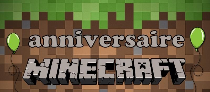 anniversaire minecraft jeux idees et