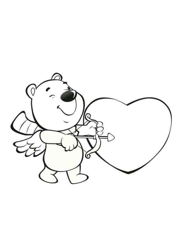 Coloriage Saint Valentin : 11 dessins à imprimer gratuitement