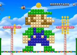 Screenshot de New Super Mario Bros U Deluxe sur Nintendo Switch.