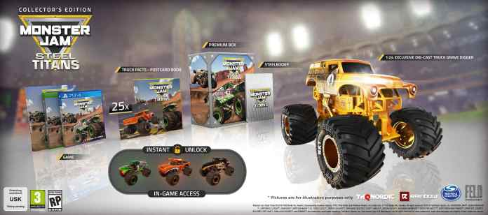Monster Jam Steel Titans Edition Collector, jeuxvideo24