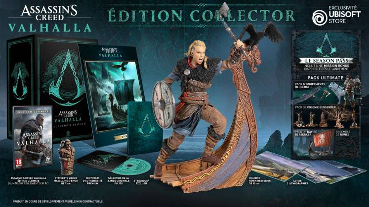 assassin's creed valhalla edition collector