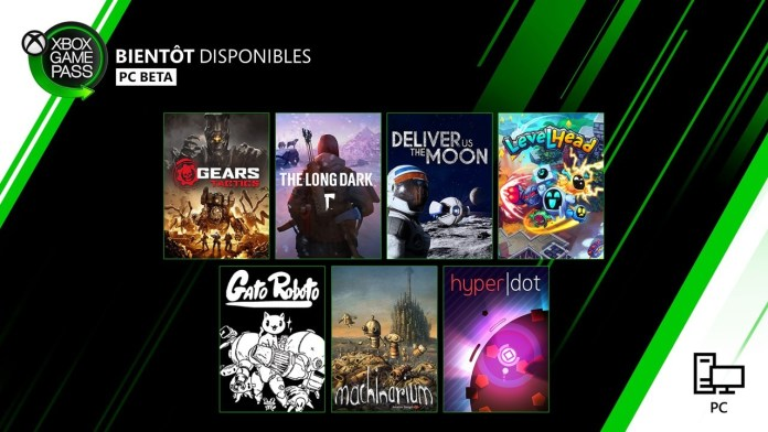 xbox game pass avril 2020 pc