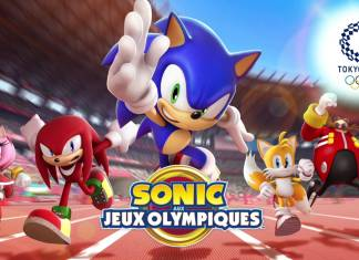 sonic at the Olympic Games Key Art