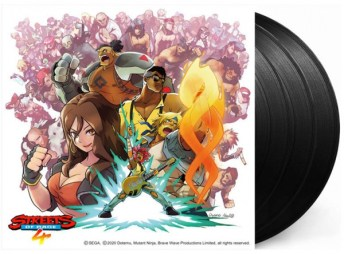 streets of rage 4 vinyle edition standard