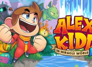 Alex Kidd In Miracle World DX art
