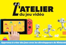 atelier du jeu video nintendo switch art