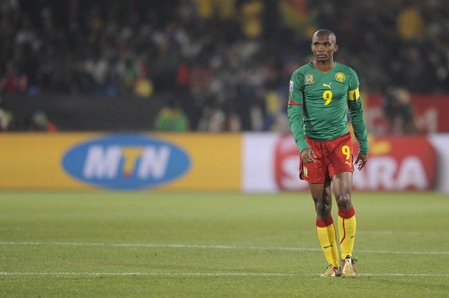 Samuel Etoo of Cameroon