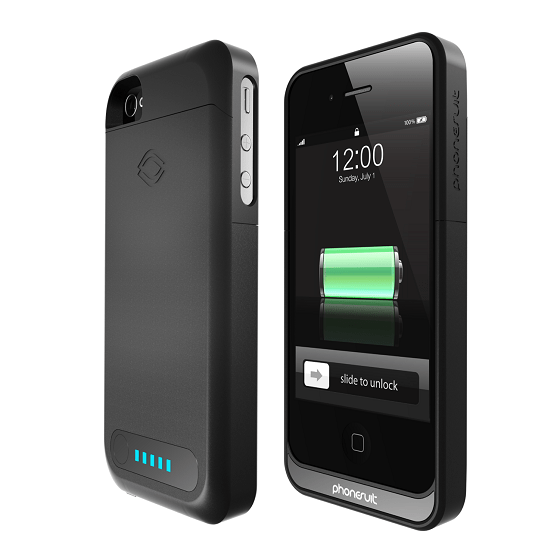 Tech : Phonesuit Elite 5, la coque rechargeable pour iPhone 5/5s