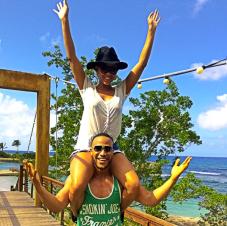 Meagan-Good-DeVon-Franklin-vacances-noel-jewanda
