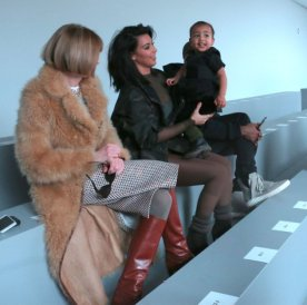 North West steals the show from daddy, Kanye West's first fashion show NYC